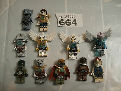 11 Lego Minifig Figures From  Legends Of Chima