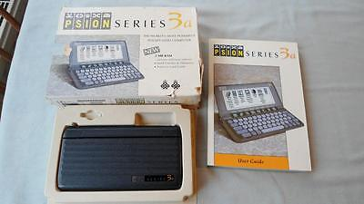 PSION SERIES 3a PDA POCKET-SIZED COMPUTER WORKING, BOXED WITH MANUAL 1993 2MB