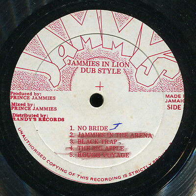 Agrovators - Jammies In Lion Dub Style JA Jammy's LP Listen!