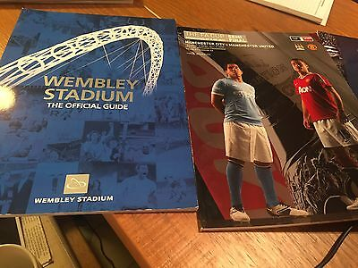 Manchester City V Man Utd Fa Cup Semi Final 16/04/2011 & Guide To Wembley