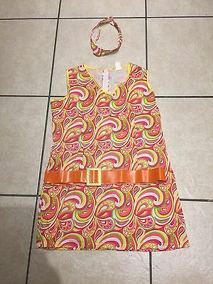 Ladies - Hippy 60's fancy dress outfit - Size: 16/18