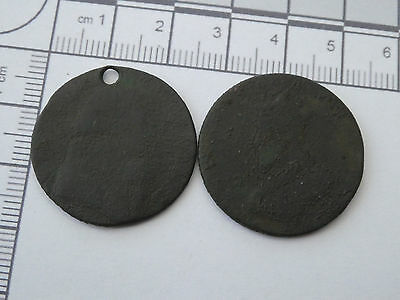 Two old tokens