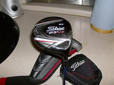 Titleist 913 D3 9.5% Driver With H/cover Very Good Cond...