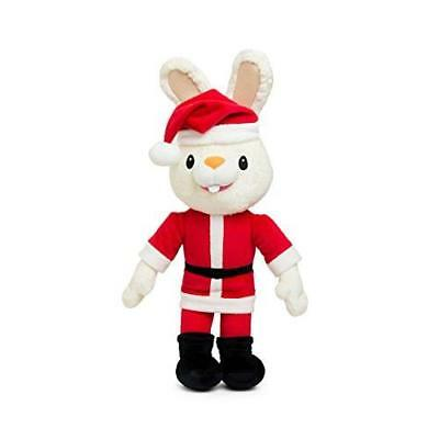 Baby First TV - Christmas Santa Harry the Bunny - Soft Plush Toy for Baby New