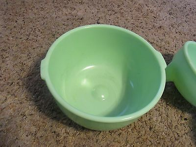 Vintage JADITE SUNBEAM LARGE MIXER BOWL Great Collectible
