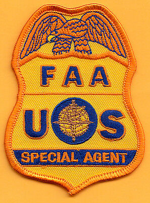 F23 * Air Special Agent Gold Federal Agency Ice Fbi Atf Dea Irs Police Patch
