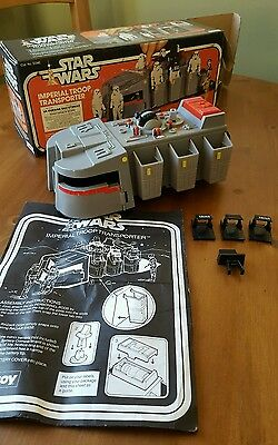Vintage Star wars imperial troop transporter palitoy