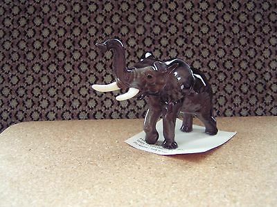 "Hagen-Renaker  Elephant 3 1/2"" long Trunk up"