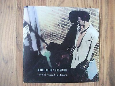 """Ruthless Rap Assassins - 7"""" And It Wasn't A Dream - 1990 Syncopate – SY 38"""