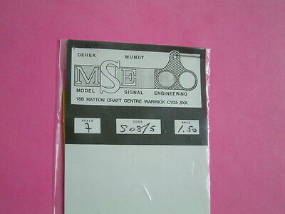 7mm O gauge MSE SO8/5 and SO21 unidentifid items. See 4 pics.Railway.Train.Model