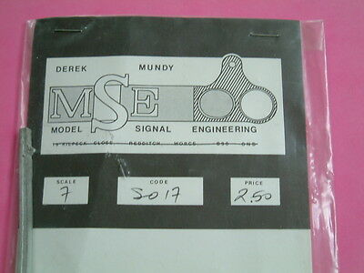 7mm O gauge MSE SO17, SO30, SO32, Signal Posts. Railway.Train.Model