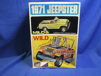 1971 Jeepster by MPC built factory stock with box & Extra Parts # 7120