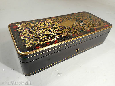 Antique French Boulle Box   ref 1083