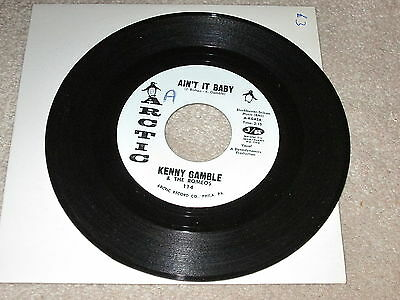 Kenny Gamble & The Romeos - Ain't It Baby - Arctic Label