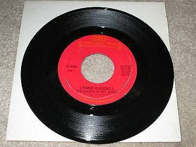 Lynne Randell - Stranger In My Arms / Ciao Baby - Columbia Label