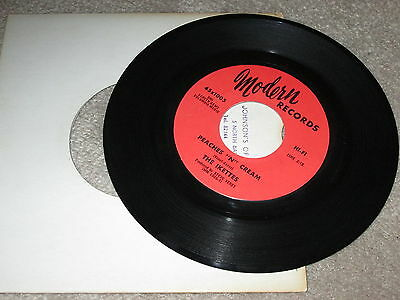 The Ikettes - Peaches 'n' Cream / The Biggest Players - Modern Records Label