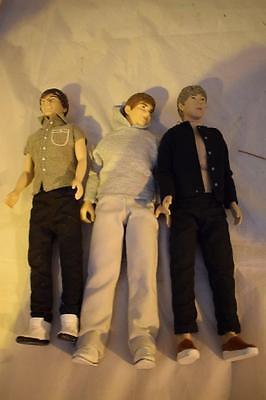 One Direction Dolls - Niall, Louis and Liam Doll Figures
