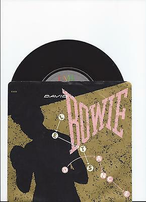 David Bowie Original Single Let's Dance From Canada