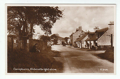 Carsphairn Village Kirkcudbright 1935 Real Photograph N Lawrence Publisher