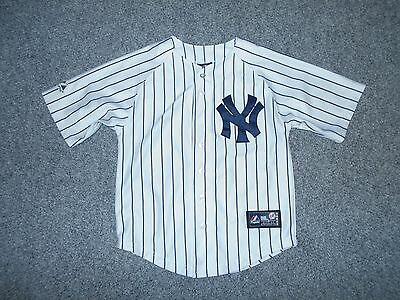 Majestic Mlb New York Yankees Derek Jeter Youth 8 Stitched Jersey