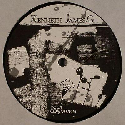 Kenneth James G. YOUR CONDITION Vinyl Single 12inch NEAR MINT resopal