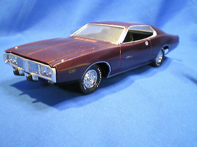 1973 Charger by MPC built factory stock with instructions no box.