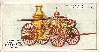 z8# 19 Typical American Fire-Engine 1880-90 Players Fir