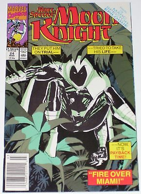 Marc Spector: Moon Knight #24 from March 1991 VF to VF/NM