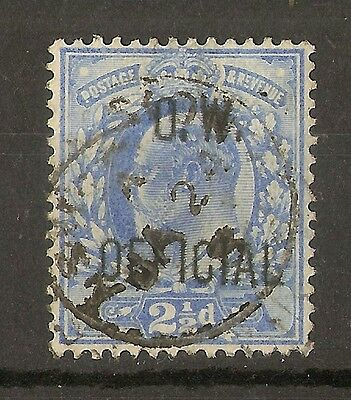 GB 1902 EDVII 2.5d O.W. Official Fine Used Cat£675