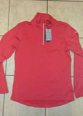 Abacus drycool red stretch women's sz medium l/s shirt Gladstone turtleneck