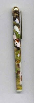 Quality Writing Pen WIREHAIR FOX TERRIER Rollerball Black Ink Pen