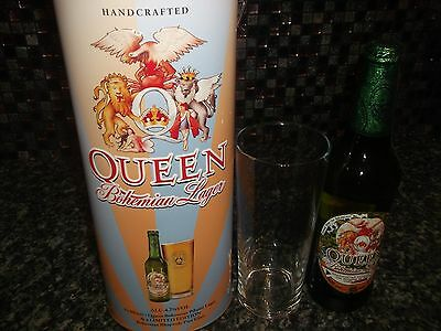 Queen Limited Edition 40Th Anniversary Bohemian Beer Tin Set