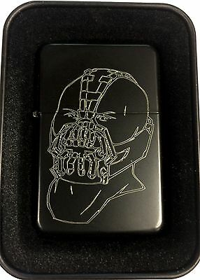 Bane Batman Villain Black Engraved Cigarette Gift Lighter LEN-0210
