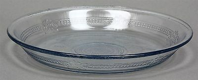 "FIRE-KING Philbe Sapphire Blue Oven Ware Pie Pan Plate Baking Dish 9"" X 1-3/8"""