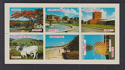 AUSTRALIA c1960s  (-) QUEENSLAND GYMPIE-CINDERELLA rouletted  Minisheet - MNG