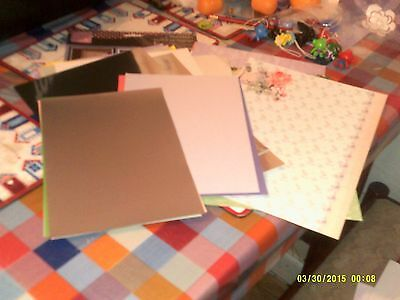card makeing items job lot