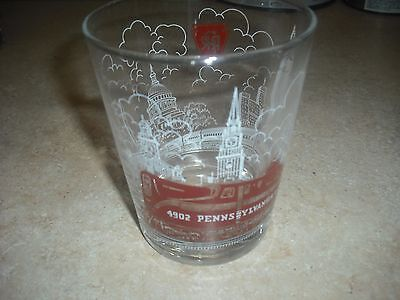 Vintage Pennsylvania Railroad 4902 PRR Locamotive 16 Oz. Highball Bar Glass PC