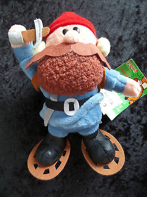 CVS Rudolph the Red-Nosed Reindeer YUKON CORNELIUS Plush Toy Ornament 1999 TAGS