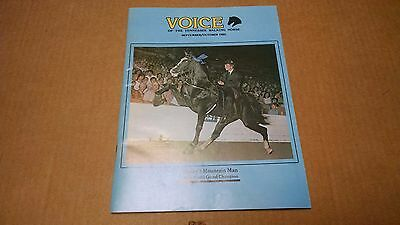 1980 Voice of The Tennessee Walking Horse  Sept./Oct. WGC  Magazine
