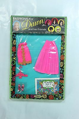NRFB #8124 Glamour Jams Vintage Dawn Outfit 1971 Small Green Box