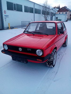 1982 Volkswagen Golf Mk1 Gti Lhd Fully Restored German Papers And Location