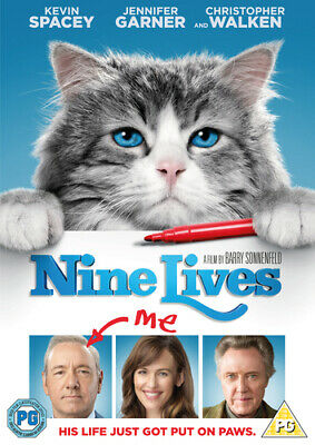 Nine Lives DVD (2016) Kevin Spacey, Sonnenfeld (DIR) cert PG Fast and FREE P & P