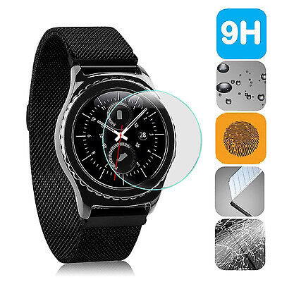 Premium Tempered Glass Film Screen Protector Guard For Samsung Gear S3