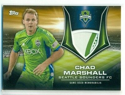 Chad Marshall 2015 Topps MLS Kits of the Game Relic Patch Jersey #11/25