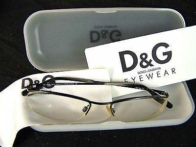D&G Dolce & Gabbana 4098 135 Frame Glasses Made in Italy with Case