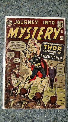 Journey into Mystery 84 second Thor GD 2.0 graded by New Kadia Valued at 490.00