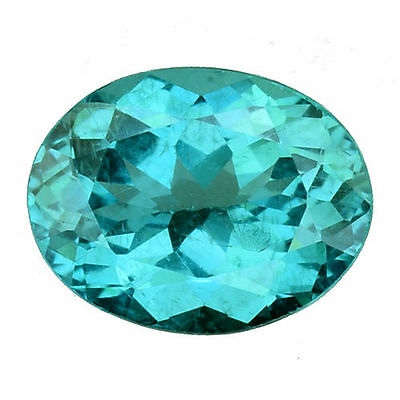1.365Cts Ravishing Luster Blue Green Natural Apatite Oval Loose Gemstones