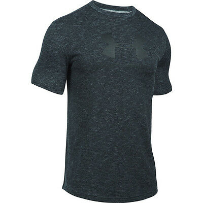 Under Armour HeatGear Sportstyle Branded T-Shirt gray black 1294251-008 Training