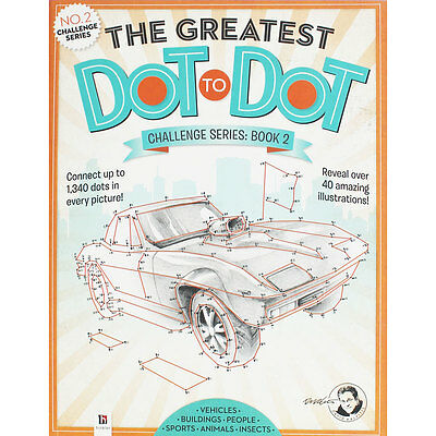The Greatest Dot to Dot - Challenge Series Book 2, Children's Books, Brand New