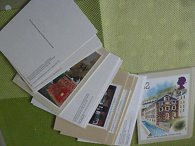 6 FULL SETS OF MIXED  ROYAL MAIL POSTCARDS . INDUSTRY etc